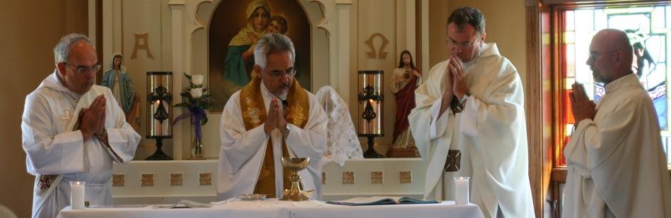 Photo of the Shrine Dedication Mass.